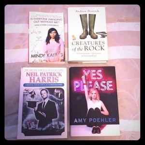 Variety of books $20